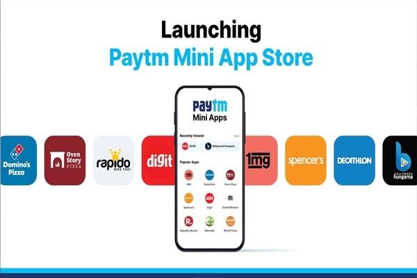 Paytm launches Mini App Store